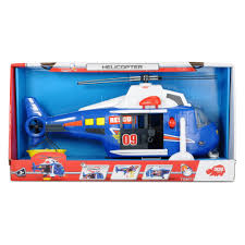 Dickie Helicopter Light And Sound Simba 203308356 Kids Rescue Helicopter Toy Interactive Features Inc Moving Rotor Winch Flashing Lights Sounds Stretcher Opening Doors Ages
