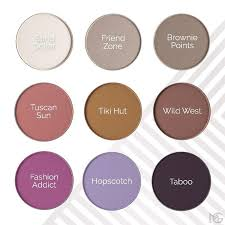 check out half of the 18 new eyeshadows we launched today these are all