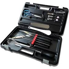 Malette 15 Couteaux Et Ustensiles Professionnel Achat Vente