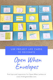 Maybe you would like to learn more about one of these? How To Decorate Open When Envelopes With Project Life Supplies Finding Mandee