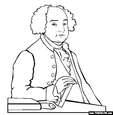 Small Picture John Adams Coloring Page Free John Adams Online Coloring