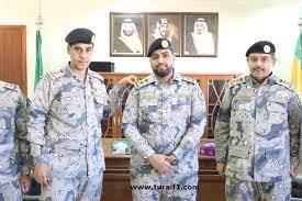 """قائد قطاع حرس الحدود بطريف يقلّد """"الجهني"""" رتبة ملازم أول - اخبارية طريف"""