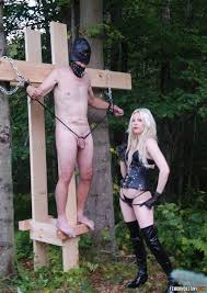 Milf femdom outdoor punishments