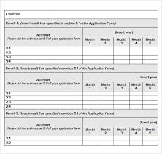 Work Plan Proposal Template Work Plan Proposal Template Sample Work