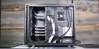 Fractal Design R6 Case Fans Fractal Define R6 Case Review A Stout Quality Build