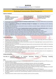 Sales Marketing Resume Examples Manager Exampleutive Sample Doc