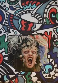 Rage Design Painting Rage 2019 Stegoworldart Markers Pen Collage Original