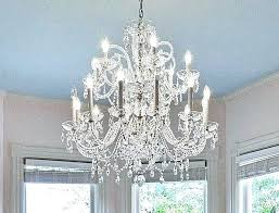 best solution to clean crystal chandelier designs