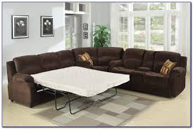 excellent leather sectional sleeper sofa with recliners sofas home intended for attractive reclining sleeper sofa i82