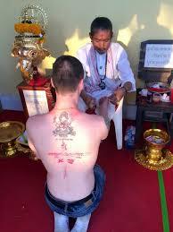 таиланд паттайя храмовые тату сак янт