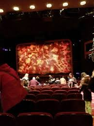 minskoff theatre sección orchestra fila x asiento 130