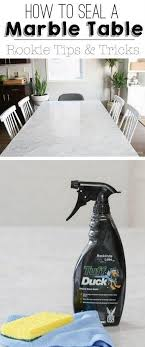 dining room table marble