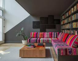 design stunning living room. Stunning Living Room With Library Pop Interior Design I
