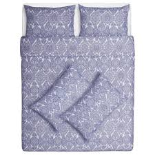 ikea skÖrpil quilt cover and pillow case single double and king size