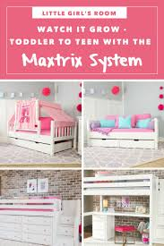 Little Girl s Bedroom Furniture System in Action