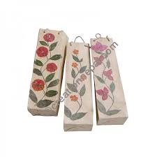 Paper Flower Suppliers Lokta Paper Flower Wine Bag