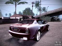 Maserati Quattroporte 2010 for GTA San Andreas