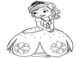 Small Picture Princess Sofia Coloring Page Good Princess Sofia Printable