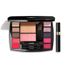 travel makeup palette makeup essentials with travel mascara in harmonie de camélias ref 149380