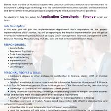 People Soft Consultant Resume Templates Account Receivable Resume Shows Both Technical And 70