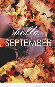 cute shoes hello september quote picture