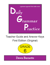 Daily Grammar Practice - Sample materials for English, grades 1-12