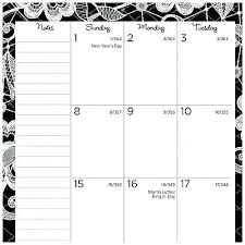 At A Glance Monthly Planner Weekly 4 Of Appointment Book Month