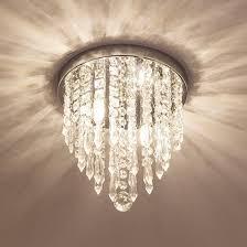 lifeholder mini chandelier crystal chandelier lighting 2 lights flush mount ceiling light