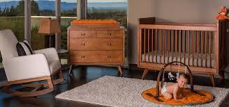 mid century modern baby furniture. Midcentury Modern Baby Room. Skylar Crib Mid Century Furniture I