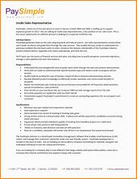 9 Resume Examples Sales Representative Cover Letter