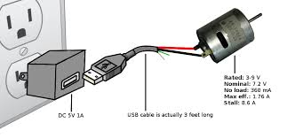 usb dc motor starting and stopping electrical engineering the wall charger is dc 5v 1a supply the motor is a rs 360sh