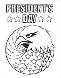 Small Picture Presidents Day Coloring Page