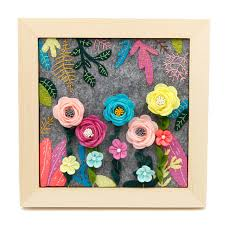 sewing art free cutting felt flower love picture frame painting for home wall decor women manual on felt flower wall art diy with sewing art free cutting felt flower love picture frame painting for