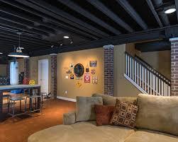 unfinished basement ceiling.  Unfinished Medium Size Of Ceilingbasement Ceilings Options Diy Basement Ceiling  Ideas Unfinished Decorating Inside T