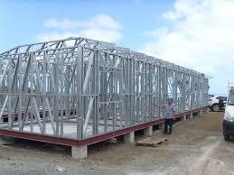 Prefabricated Light Steel Frame Houses Moveable Hard Prefab House