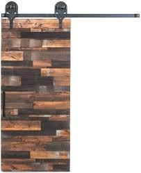 sliding barnwood door barn doors steel wood closet hardware set rustic