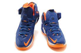 nike basketball shoes 2015. 2015 new nike lebron xii ep mens basketball shoes sapphire blue orange