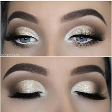 pretty makeup ideas for blue eyes 7