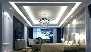 ceiling design for living room bedroom roof modern sky shaped with simple false master bedro