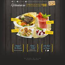 Restaurant Website Templates Interesting Restaurant Web Templates Goalgoodwinmetalsco