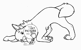 Small Picture Extremely Creative Funny Animal Coloring Pages Very Dog Page For
