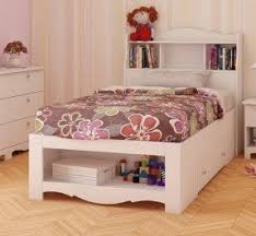 twin platform bed with headboard. Contemporary Twin Dixie Storage Bed And Optional Bookcase Headboard In Twin Platform With R