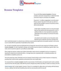 Create Your Own Resume Template Amazing Looking At Other People's Resumes Will Help When Trying To Type Your