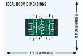 foosball table dimensions. Foosball Table Dimensions Illustration Of Tornado Classic . E