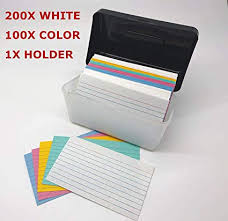 Index Card 3x5 Amazon Com Giftexpress 3x5 Inch Index Card Holder Plus 3x5