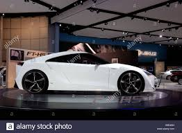 The Toyota FT-HS concept car at the North American International ...