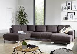 Sofa Wohnlandschaft London Antik Optik Farbe Dunkelgrau