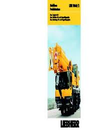 Liebherr Ltm 1060 2 Specifications Cranemarket