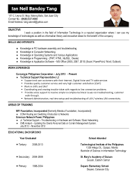 Update Resume 5 Cv For Jobstreet Objective I Seek A Position In The