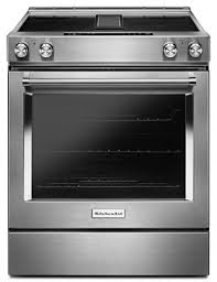 downdraft oven range. Plain Downdraft Stainless Steel 30Inch 4Element Electric Downdraft SlideIn Range  KSEG950ESS  KitchenAid Inside Oven D